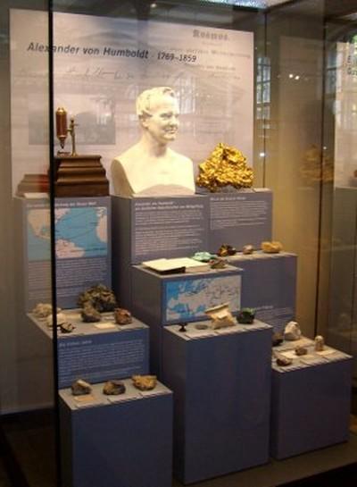 Mineraliensammlung A. von Humboldts im Museum für Naturkunde (Berlin)